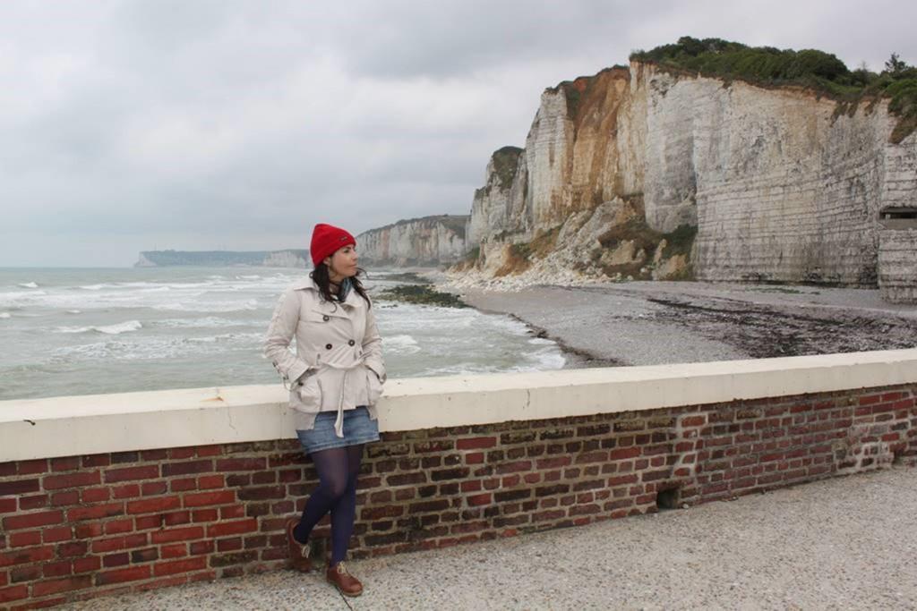 011 - Teresa Lorenzo, bloguera en Yport