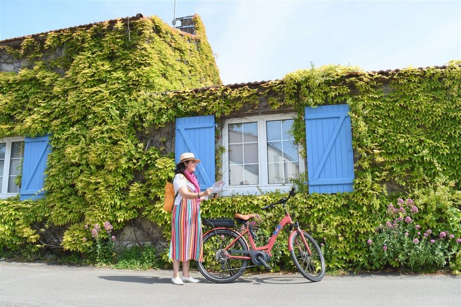 Ruta en bici por Loirz atlantico