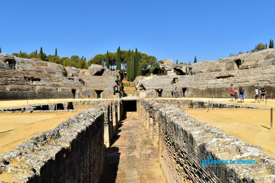 Italica anfiteatro PLANES MOLONES EN SEVILLA LIBRES DE COVID